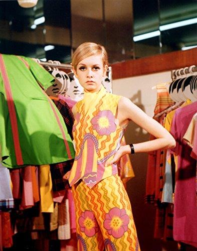 本日は60年代ポップ・カルチャーを代表するモデル、ツイッギーの